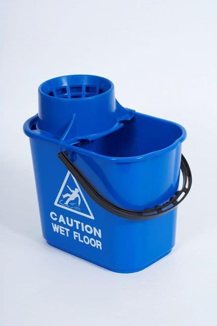 Blue Professional Mop Bucket - 15L